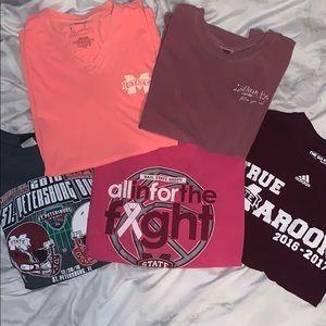 ✨mississippi state shirt bundle